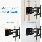 Articulating Large TV Wall Mount w/ Extension | MI-385