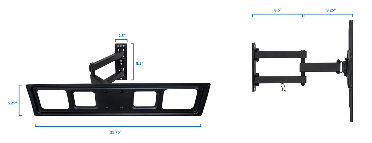 Full Motion TV Wall Mount | MI-3991L 2
