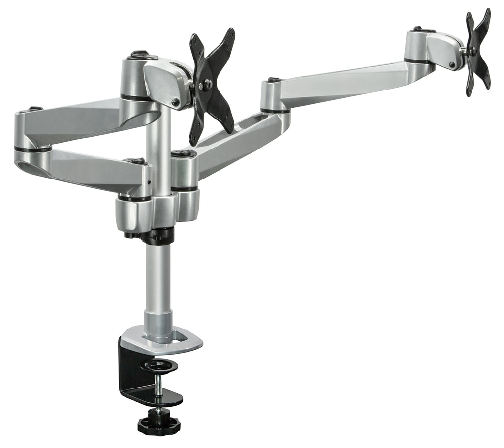 Mount-It! Dual Wide Adjustable Monitor Desk Mount - MI-43116 - Mount-It!