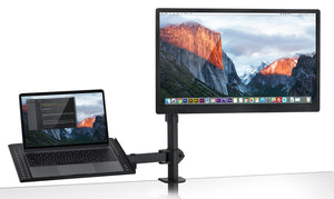 Mount-It! Laptop Desk Stand and Monitor Mount-MI-4352LTMN - Mount-It!