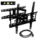 Full Motion Dual Arm TV Wall Mount w/ Extension | MI-4461