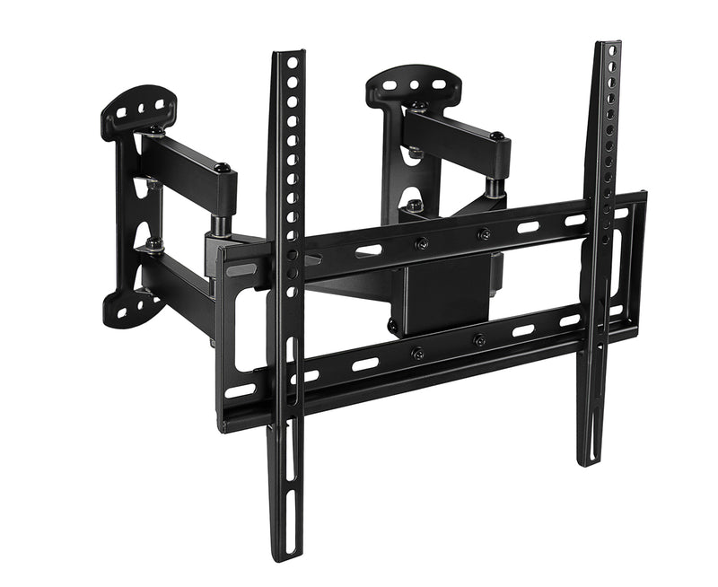 mount it full motion corner tv wall mount w extending dual arms mi. Black Bedroom Furniture Sets. Home Design Ideas