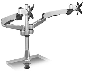 Mount-It! Extra-Tall Dual Spring Arm Adjustable Monitor Desk Mount - MI-45111 - Mount-It!