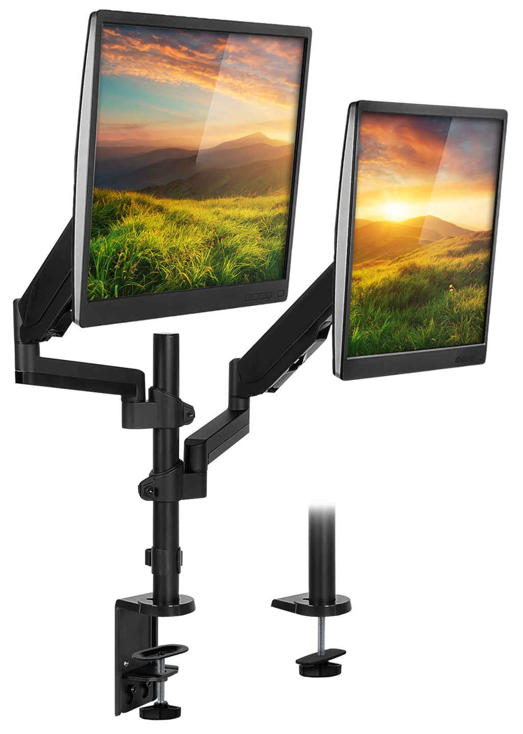Mount-It! Dual Monitor Desk Mount - MI-4762