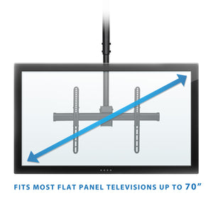 Mount-It! Full Motion Ceiling TV Mount - MI-509L - Mount-It!
