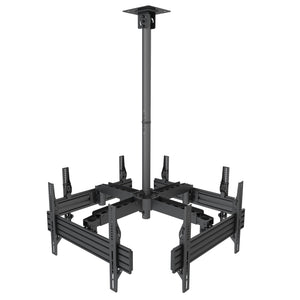 Quad TV Display Ceiling Mount | MI-514