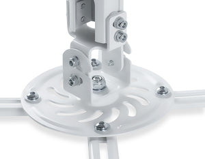 Mount-It! Universal Projector Ceiling Mount - White - MI-606L - Mount-It!