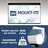 Universal Projector Screen Wall Mount| MI-630