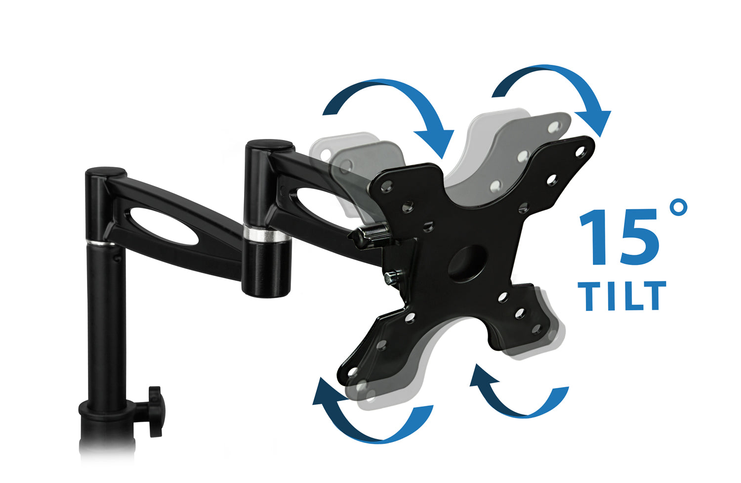 """Monitor Desk Mount Stand for 13/""""-30/"""" Screens Mount-It MI-705"""
