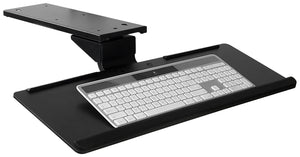 Mount-It! Adjustable Keyboard and Mouse Drawer Platform With Ergonomic Wrist Rest Pad - MI-7138 - Mount-It!