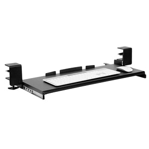 Mount-It! Clamp-On Adjustable Keyboard and Mouse Drawer Platform - MI-7143 - Mount-It!