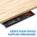 Under Desk Slide Out Pencil Drawer  | MI-7144