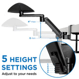 Adjustable Arm Rest for Desk | MI-7145