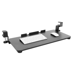Clamp-On Adjustable Keyboard and Mouse Tray | MI-7147
