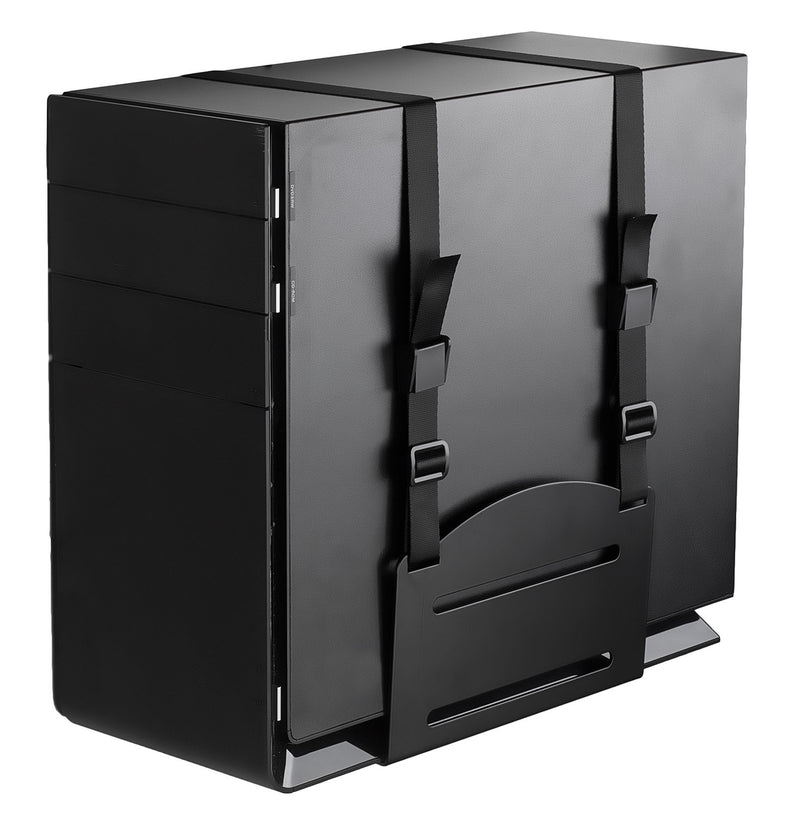 Cpu Wall Mounted Desktop Computer Tower Holder Withsecure