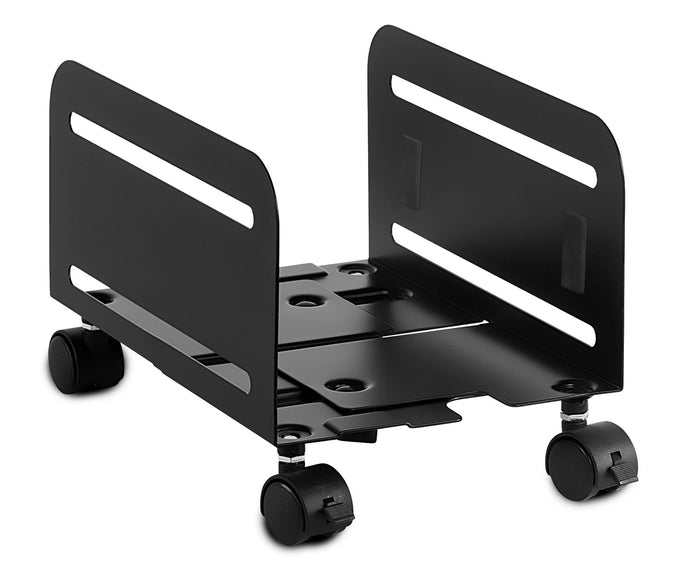 Mount-It! CPU Stand With 4 Caster Wheels-MI-7153