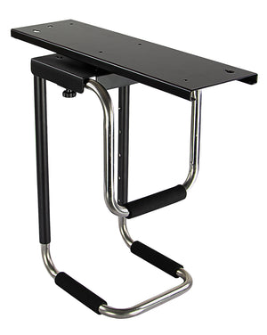 Mount-It! CPU Under Desk Mount Computer Tower Holder- MI-7155