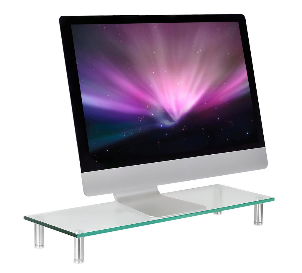 Mount-It! Glass Riser Display & Laptop Stand - MI-7261 - Mount-It!