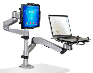 Mount-It! Full Motion Laptop, Tablet, Monitor Mount - MI-73716 - Mount-It!