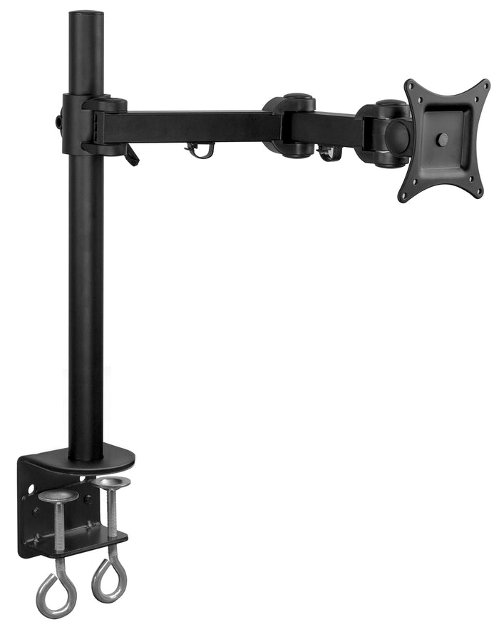 Mount-It! Single Arm Articulating TV/Monitor Desk Mount - Black - MI-751