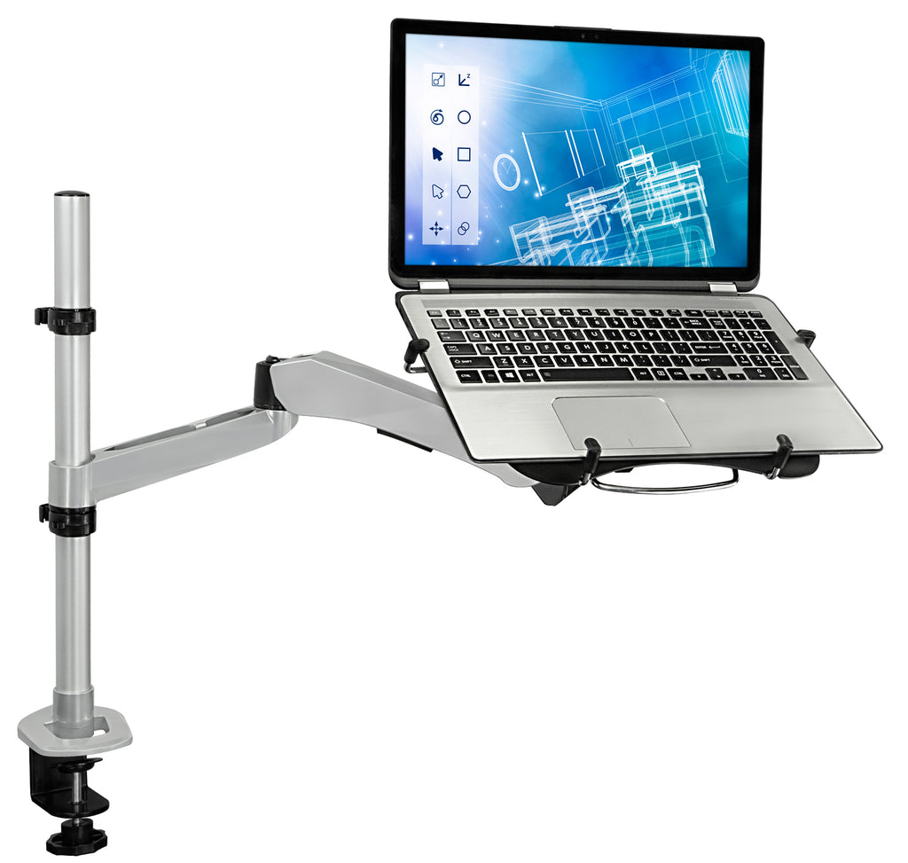 Mount-It! Laptop Desk Mount w/ USB Powered Cooling Fan - MI-75806 - Mount-It!
