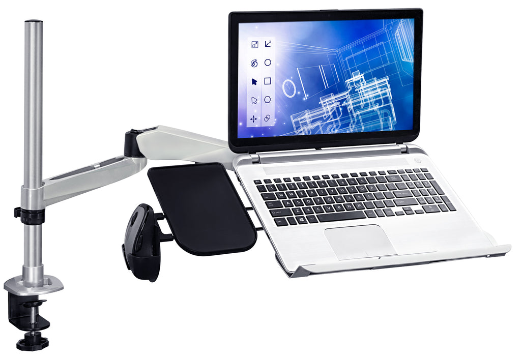 Mount-It! Full Motion Laptop / Notebook Desk Mount - MI-75906 - Mount-It!