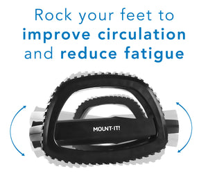 Mount-It! Rocking Foot Rest, Two Pre-Set Height Settings and Anti-Slip Design-MI-7806 - Mount-It!
