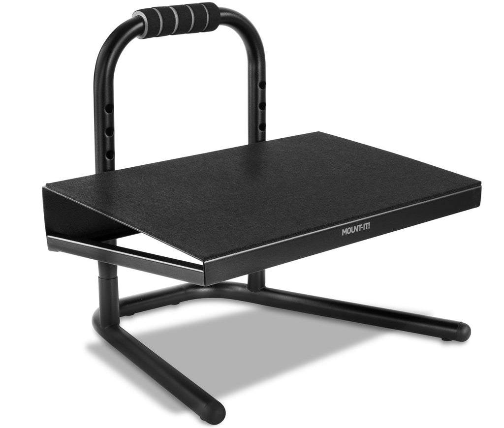Mount-It! Height Adjustable Foot Rest for Standing and Sitting, Six Height Settings – MI-7807