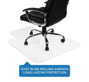 Mount-It! Clear Studded Office Chair Floor Protector - MI-7817 - Mount-It!