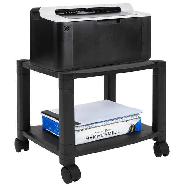 Height Adjustable Printer Stand With Wheels | MI-7854A