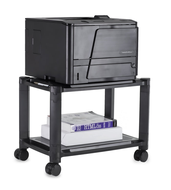 Mount-It! Portable Height Adjustable Printer Stand - MI-7854
