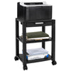 Height Adjustable Rolling Printer Cart | MI-7855A