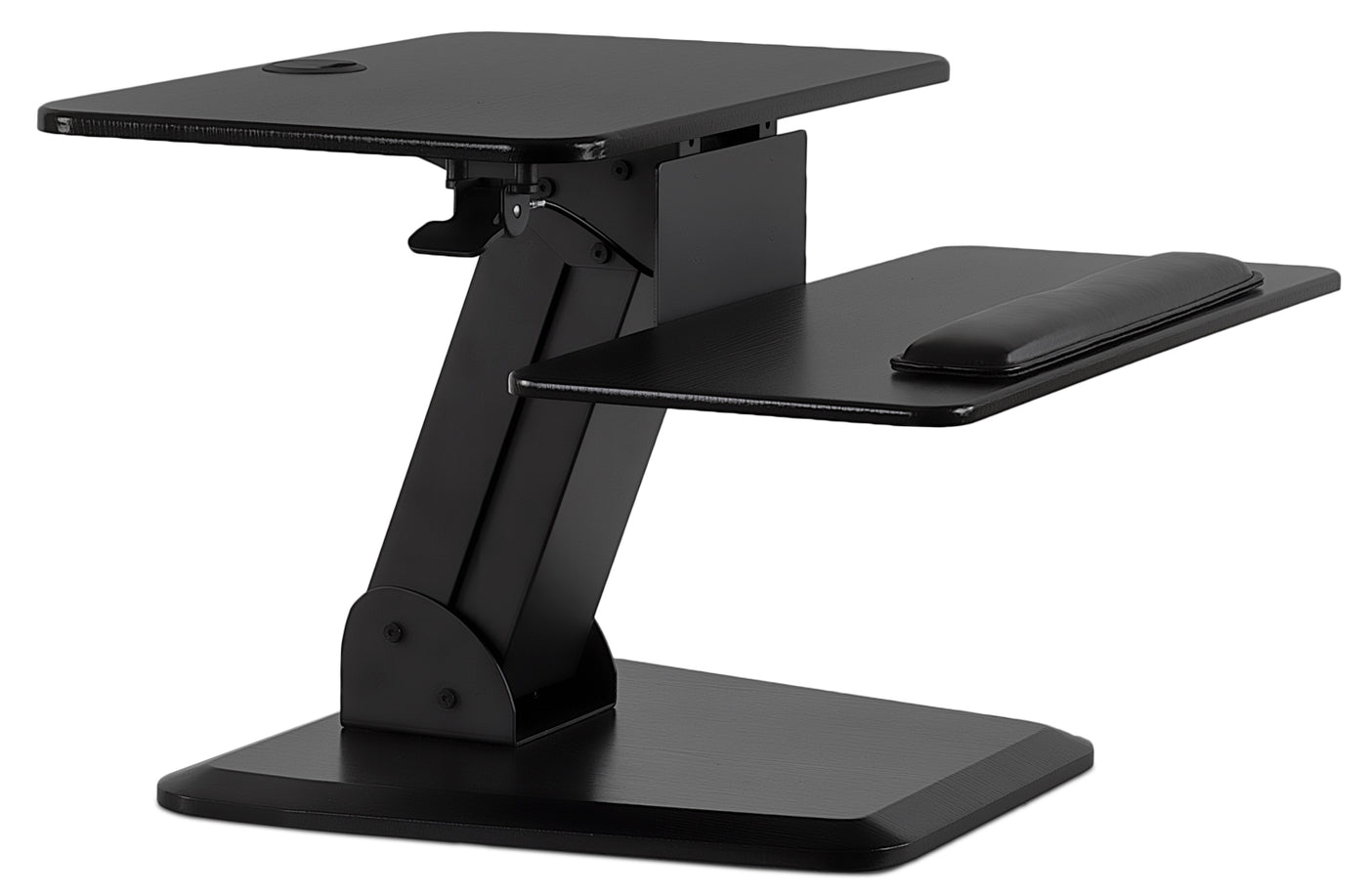 Mount It Sit Stand Desk Converter W Gas Spring Arm Mi 7916