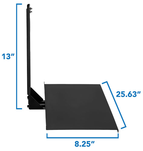 Monitor and Keyboard Wall Mount, 26 Inch Wide Platform | MI-7917 2
