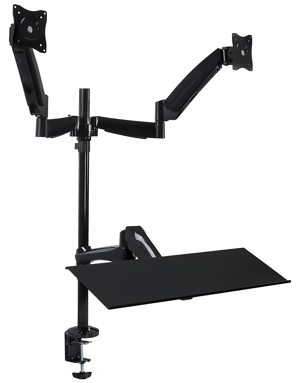 Mount-It! Dual Monitor Sit-Stand Desk Mount - MI-7922 - Mount-It!