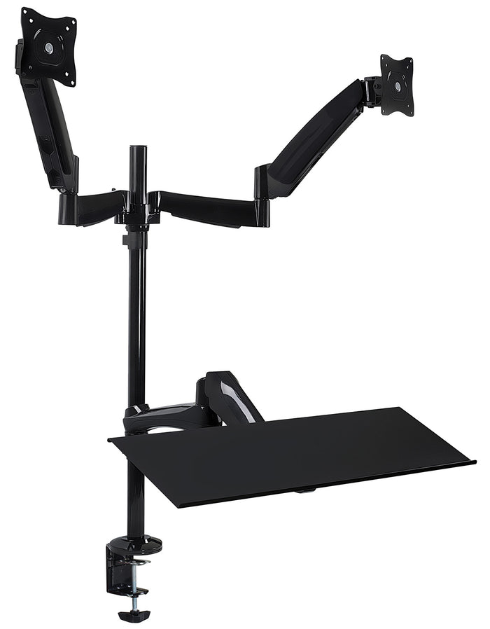 Mount-It! Dual Monitor Sit-Stand Desk Mount - MI-7922