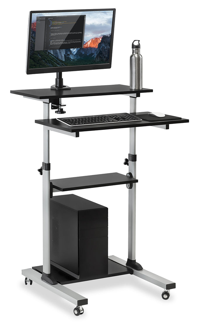 Mount-It! Rolling Computer Work Station - MI-7942
