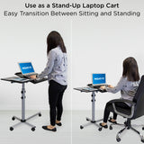 Rolling Laptop Tray & Projector Cart | MI-7945