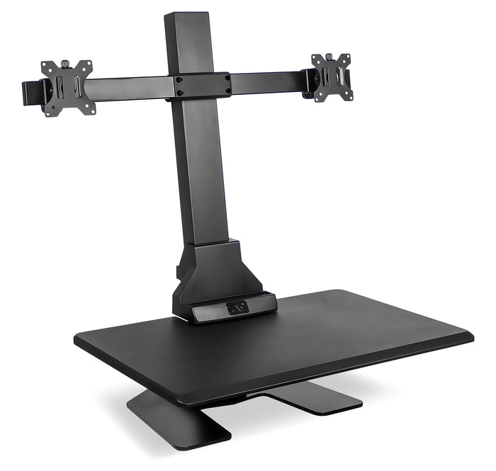 Mount-It! Sit-Stand Desk Converter for Dual Monitors-MI-7952