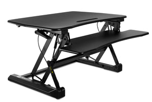 Mount-It! Standing Desk Sit-Stand Desk Converter Height Adjustable, Large Surface Area-MI-7955 - …