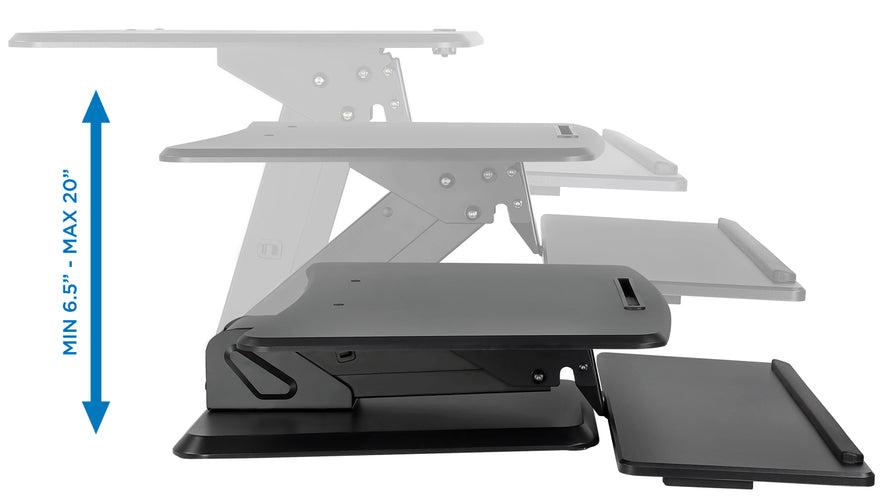 Adjustable Standing Desk Converter | MI-7960 2
