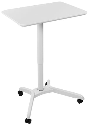 Mount-It! Standing Laptop Mobile Desk with Wheels - MI-7975
