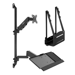 Monitor Wall Mount Workstation | MI-7991