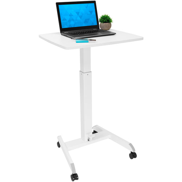 Adjustable Rolling Laptop Desk | MI-7997