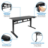 Electric Standing Desk with Memory Control Panel | MI-7999