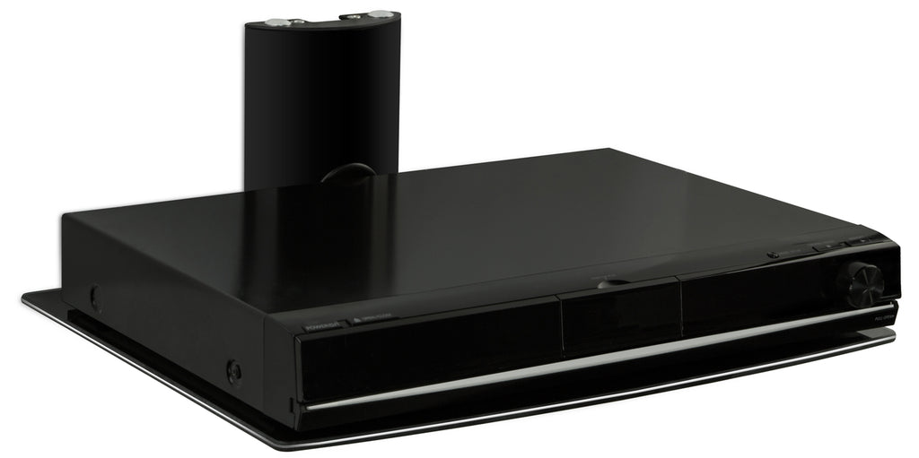 Mount-It! Glass DVD/DVR Wall Mount Shelf - MI-801 - Mount-It!