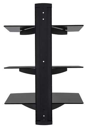 Mount-It! Triple Floating Wall Shelves for A/V Components - MI-813 - Mount-It!