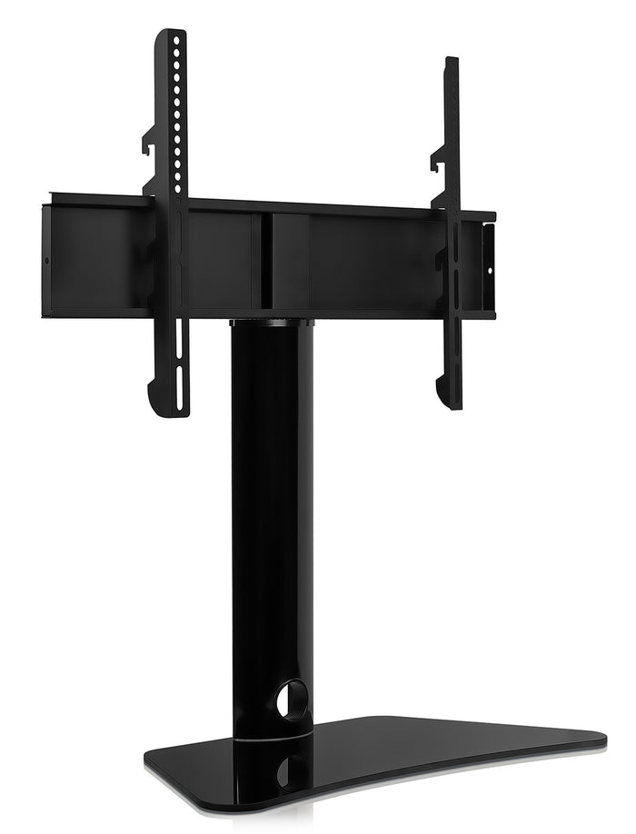 Mount-It! Universal Tabletop TV Stand & AV Media Glass Shelf - MI-844