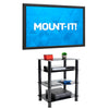 Four-Tiered Glass A/V Media Stand | MI-8670