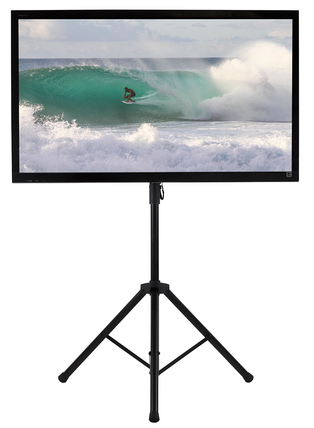 Mount It Tripod Portable Tv Stand Fits Lcd Led Flat Screen Tv Mi 874